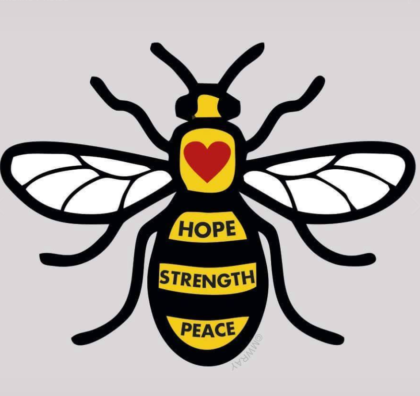 The Manchester Bee: Hope, Strength and Peace